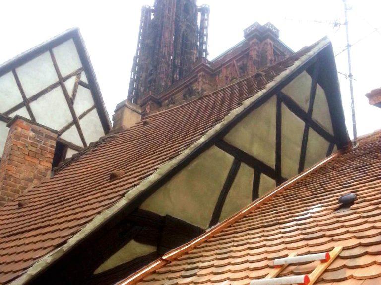 Ravalement Pignon Maison Alsacienne