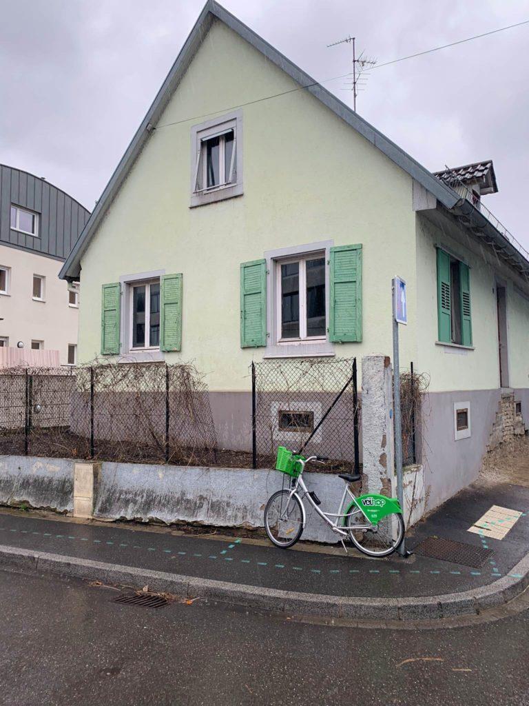 Maison individuelle Robertsau avant ravalement